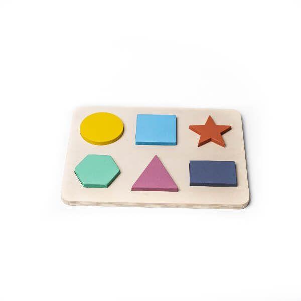 Puzzle de formas geométricas