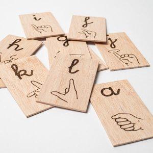 Alfabeto en Lengua de Signos