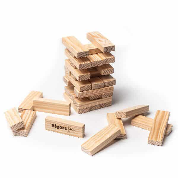 Jenga descolocado