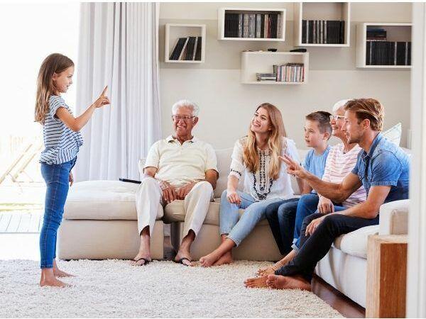 familia juego de roles