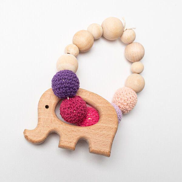 Mordedor madera elefante