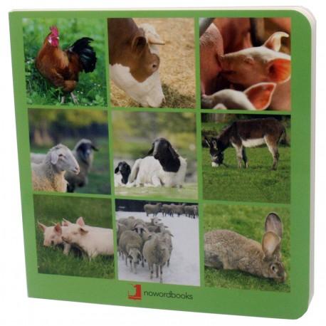 libros imágenes animales de granja