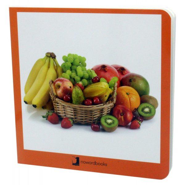 libros imágenes frutas