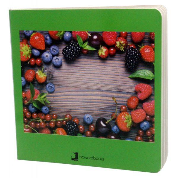 libros imágenes frutas del bosque
