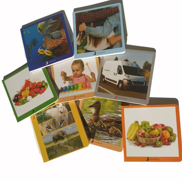 libros imágenes sin texto Montessori