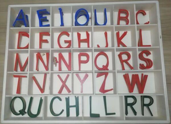 Alfabeto Móvil Mayúsculas Montessori
