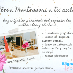 Lleva Montessori a tu aula